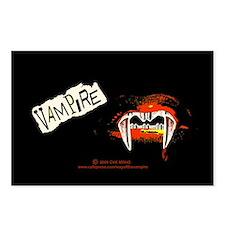 Vampire Punk Postcards (Package of 8)