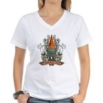 GNOOKIE GNOME Women's V-Neck T-Shirt