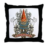 GNOOKIE GNOME Throw Pillow