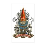 GNOOKIE GNOME Sticker (Rectangle 10 pk)