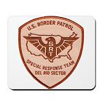 Border Patrol Del Rio SRT Mousepad