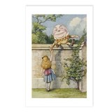 Alice and Humpty Dumpty Postcards (Package of 8)