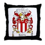 Kurtz Coat of Arms Throw Pillow