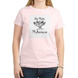 Mascot George Women's Pink T-Shirt