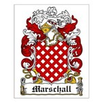 Marschall Coat of Arms Small Poster