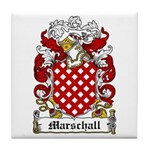 Marschall Coat of Arms Tile Coaster