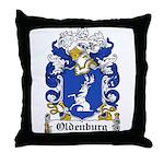 Oldenburg Coat of Arms Throw Pillow