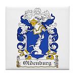 Oldenburg Coat of Arms Tile Coaster