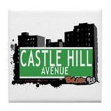 Castle Hill Av, Bronx, NYC Tile Coaster