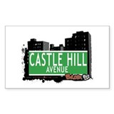 Castle Hill Av, Bronx, NYC Decal