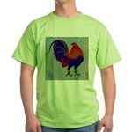 Impressionist Gamecock Green T-Shirt