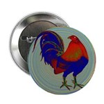 "Impressionist Gamecock 2.25"" Button"