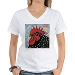 Cochin Head Women's V-Neck T-Shirt