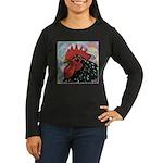 Cochin Head Women's Long Sleeve Dark T-Shirt