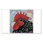 Cochin Head Sticker (Rectangle 10 pk)