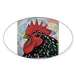 Cochin Head Sticker (Oval)