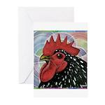 Cochin Head Greeting Cards (Pk of 10)