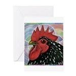 Cochin Head Greeting Card