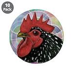"""Cochin Head 3.5"""" Button (10 pack)"""
