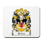 Rieter Coat of Arms Mousepad