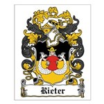 Rieter Coat of Arms Small Poster