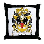 Rieter Coat of Arms Throw Pillow