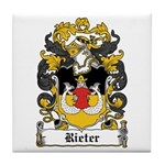 Rieter Coat of Arms Tile Coaster