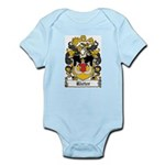 Rieter Coat of Arms Infant Creeper