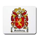 Sandberg Coat of Arms Mousepad