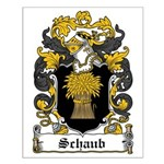 Schaub Coat of Arms Small Poster