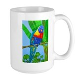 Mug Blue Lorikeet