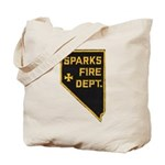 Sparks Nevada Fire Department Tote Bag