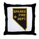 Sparks Nevada Fire Department Throw Pillow