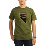 Sparks Nevada Fire Department Organic Men's T-Shir