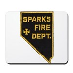 Sparks Nevada Fire Department Mousepad
