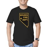Sparks Nevada Fire Department Men's Fitted T-Shirt
