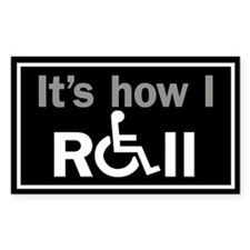 How I Roll... Decal
