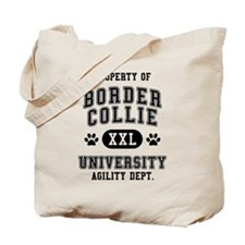 Property of Border Collie Univ. Tote Bag