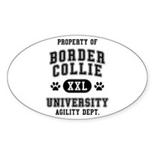 Property of Border Collie Univ. Decal
