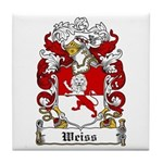 Weiss Coat of Arms Tile Coaster
