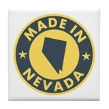Made in Nevada Tile Coaster