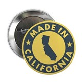 "Made in California 2.25"" Button"