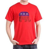 Faded Republican Elephant
