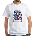 Zimmerman Coat of Arms White T-Shirt