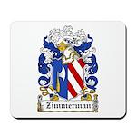 Zimmerman Coat of Arms Mousepad