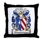 Zimmerman Coat of Arms Throw Pillow