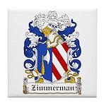Zimmerman Coat of Arms Tile Coaster