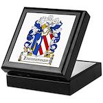 Zimmerman Coat of Arms Keepsake Box