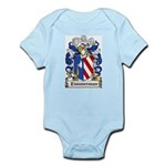 Zimmerman Coat of Arms Infant Creeper
