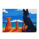 Three Dog Day Hawaii Postcards (Package of 8)